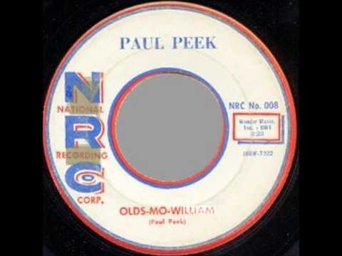 PAUL PEEK AND GROUP - I'M NOT YOUR FOOL ANYMORE / OLD-MO-WILLIAMS - NRC 008 - 1958