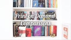 Print on Demand Comparisons