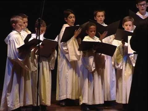 Concierto de la Escolanía de la Abadía Benedictina de la Santa Cruz - Puerto de la Cruz