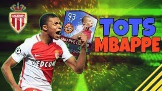The best tots card yet?! tots (93) mbappe lottin player review *jÁtÉkos ÉrtÉkelŐ* fifa 17 mobile hun