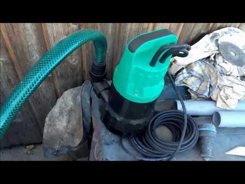Недорогой погружной насос для грязной воды. Часть 2. Работа
