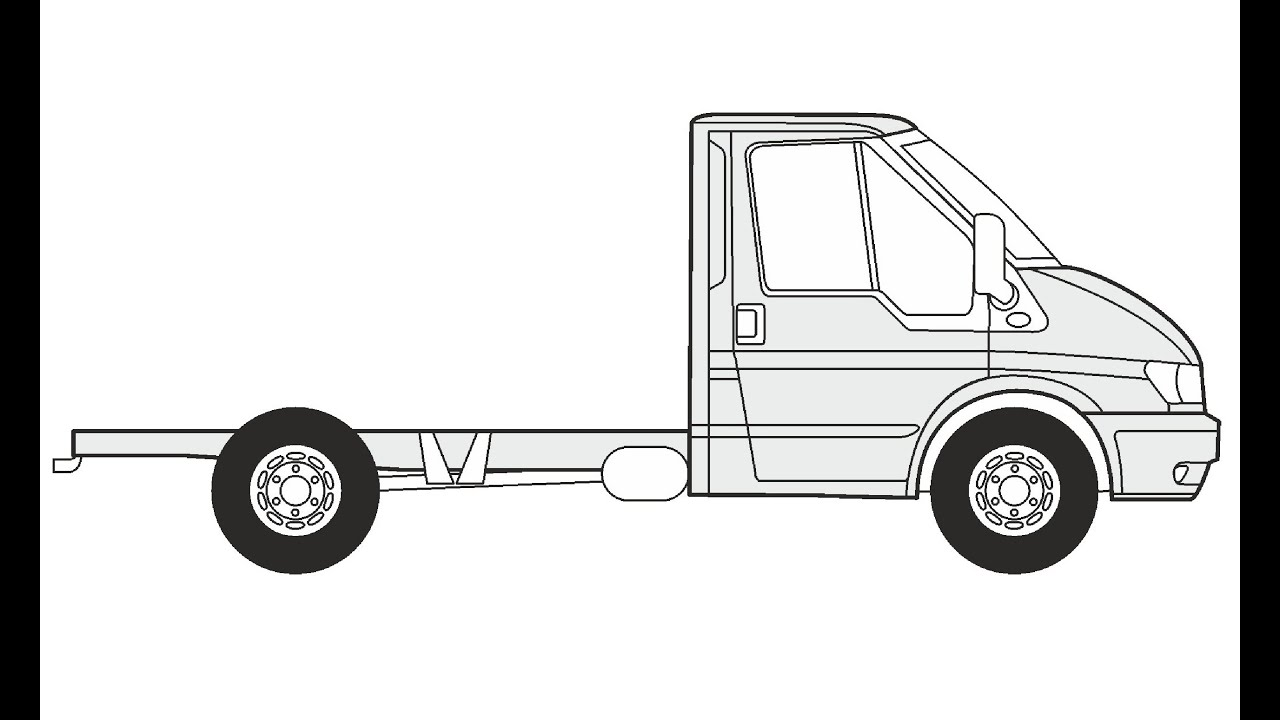 Uncategorized How To Draw A Tow Truck how to draw a ford transit ft 330 k d