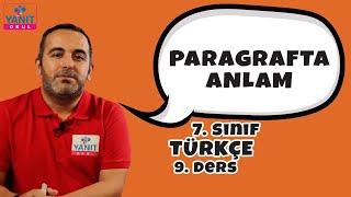Paragrafta Anlam | 7. Sınıf Türkçe Konu Anlatımları #7trkc