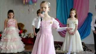 """Детский сад"" видеоклип, Диана Кравцова, 6 лет, Донецк"