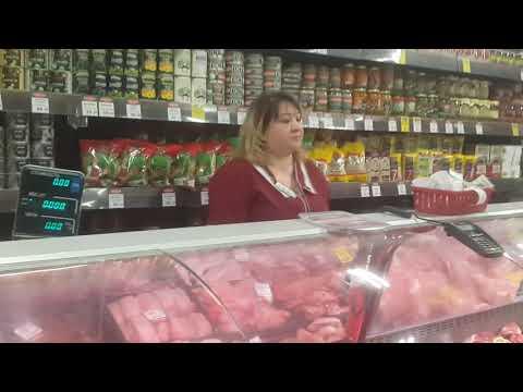 Обвес и обман в торговой сети Великолукский мясо комбинат. Санкт Петербург. Балтийский вокзал.