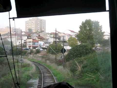 Metro de Mirandela - A Linha do Tua - November 2010