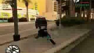 SAN Chase Car Thief