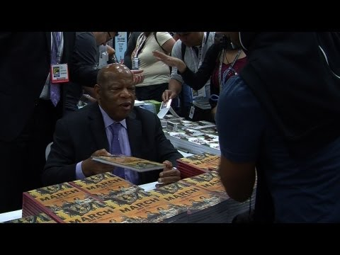Comic Book Biography of Civil Rights Leader John Lewis