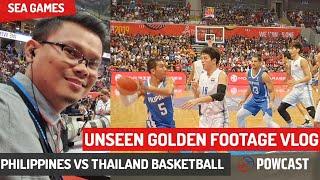 Gilas Pilipinas Unseen Footage Vlog | Philippines vs Thailand Basketball SEA Games 2019 Finals