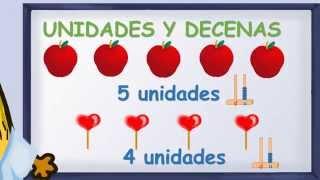 www.matecitos.com: 1º Primaria: Explicación Unidades y Decenas thumbnail