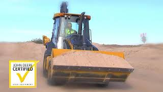Video still for John Deere Certified Pre-Owned Construction & Compact Construction Equipment