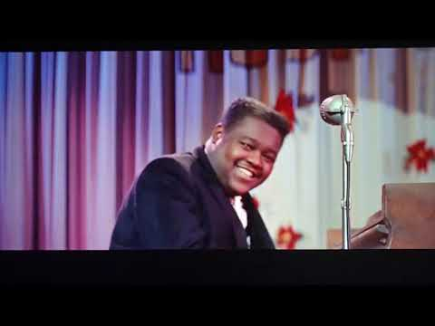Fats Domino - Blue Monday ( Movie The Girl Can't Help It 1956)