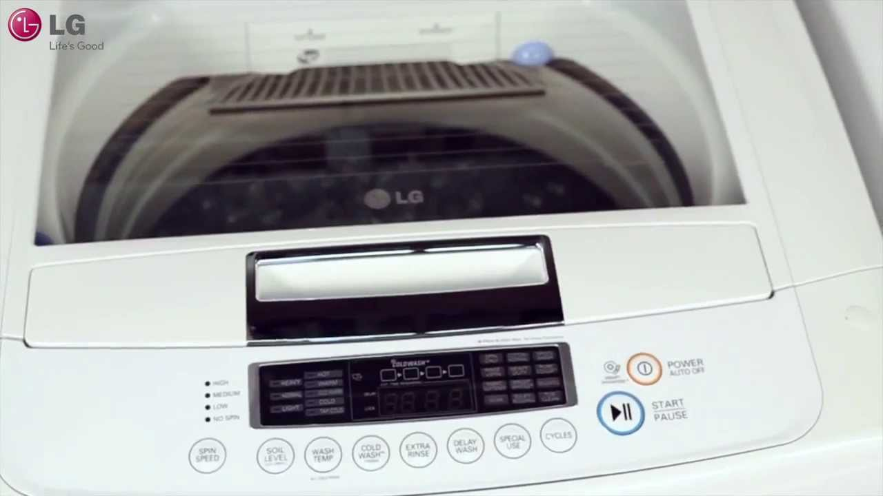 The LG WT1101CW - No other washer compares to the WT1101CW