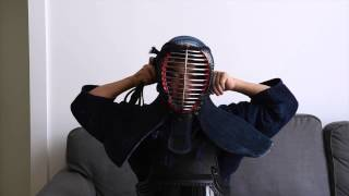 How to Wear Your Kendo Men: The Finer Points