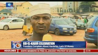 News@10: Group Protests Detention Of El-Zakzaky In Kaduna Pt 1