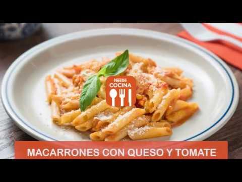 Macarrones Con Queso Y Tomate Recetas Nestlé Cocina