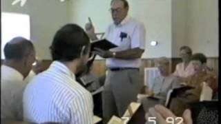 Marlon Wootten leads 56b in the Sacred Harp, Liberty 1992