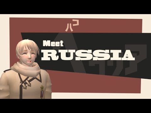 Meet Russia - MMD HETALIA ANIMATION PARODY OF TF2