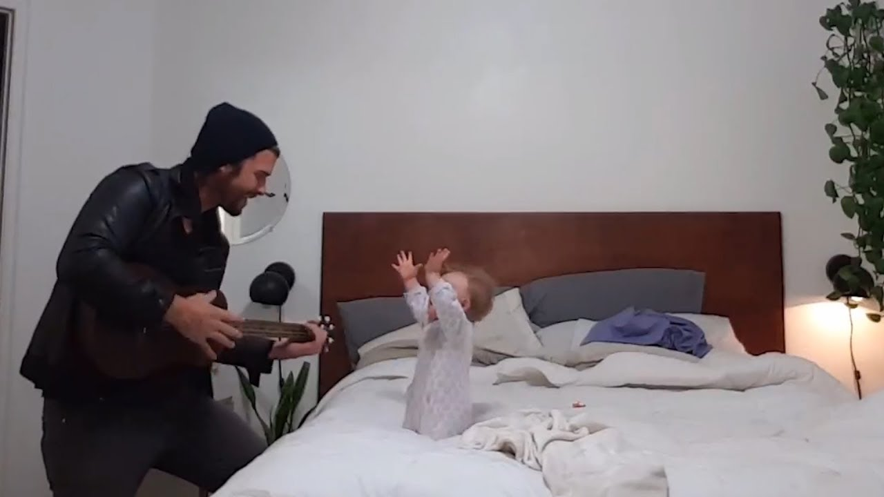 Dad And Daughter Share A Bed