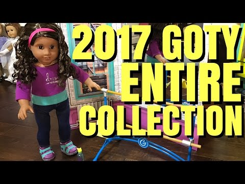 American Girl 2017 Girl of The Year Gabriela McBride ENTIRE Collection