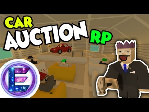 Car Auction RP - Car Bids into the MILLIONS! - Unturned RP ( Funny Moments )