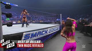 THE BEST OF THE BELLA Twins .WWE TOP 10