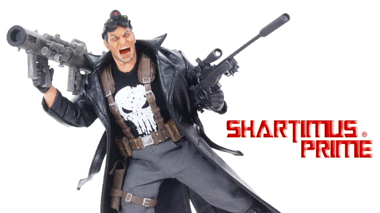 Mezco One 12 collective SDCC Punisher Special Ops Uzi