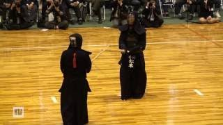 14th All Japan Invitational 8 dan Kendo Championships — Quarter final 2