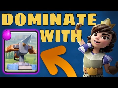 X-BOW = STRONG AS EVER!!! Pro Deck Tips - SaintBelikin :: Clash Royale