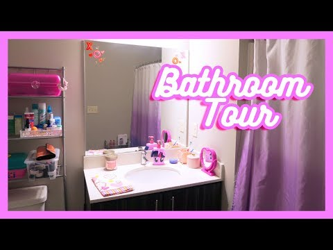 Declutter Vlog: New Bathroom setup tour!