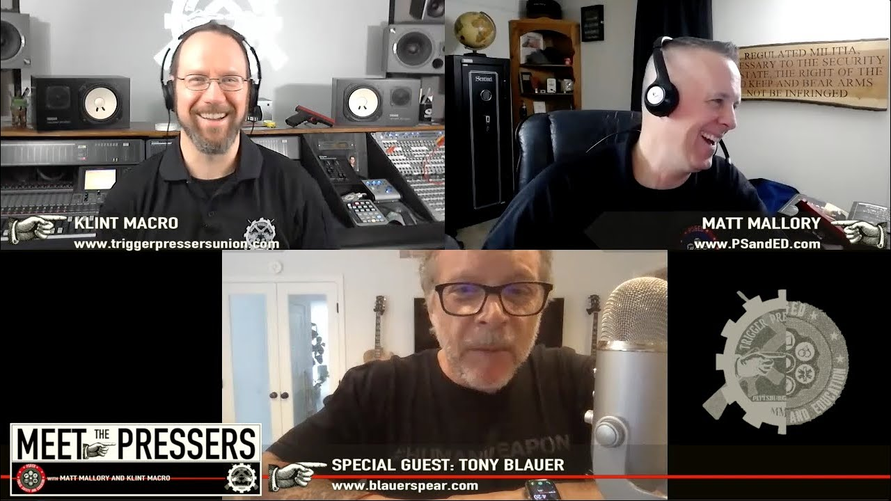 Tony Blauer from Blauer Tactical Systems and Developer of S.P.E.A.R. - Season II, Episode XX