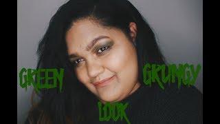 GRWM Green Grungy Fall Look Collab