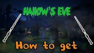 [Roblox Hallow's Eve 2018] - ¡Cómo conseguir la Varita De los Ancianos!