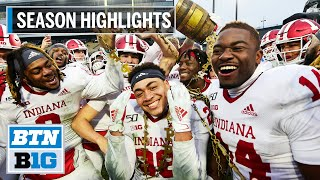 2019 Season Highlights: Indiana to Face Tennessee in Gator Bowl | B1G Football
