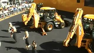 Video still for JCB DANCING DIGGERS AT CONEXPO