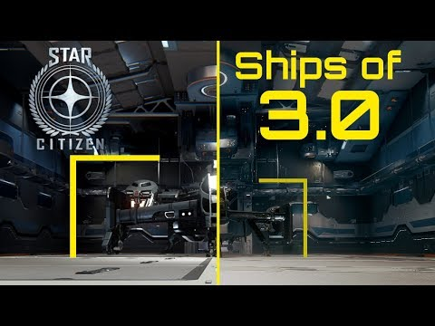 Star Citizen 3.0: Fight Ready Ships and Cutlass Comparison