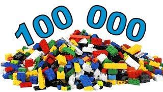 как сделать LEGO браслет и кубики за 100 000