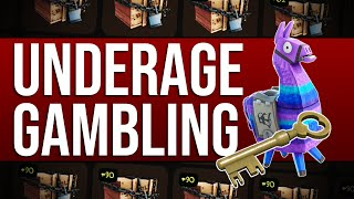 Underage Gambling in Video Games