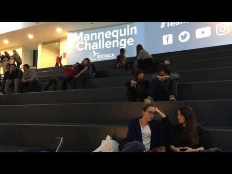 Making of du Mannequin Challenge ESTACA