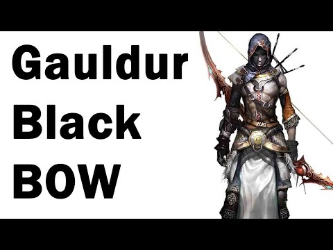Skyrim how to get the unique gauldur black bow geirmund s hall guide