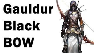Skyrim: How to get the Unique Gauldur Black Bow (Geirmund's Hall Guide)