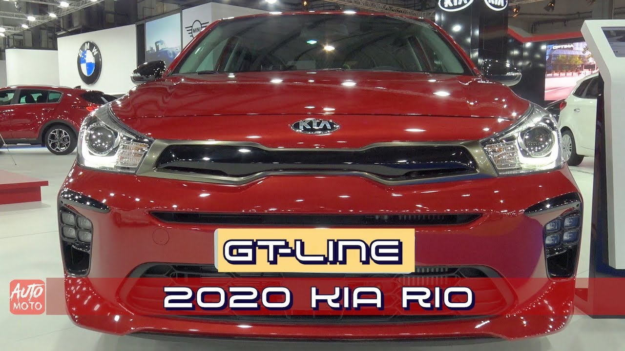 2020 Kia Rio Review.2020 Kia Rio Gt Line 1 0t Gdi Exterior And Interior 2019 Automobile Barcelona