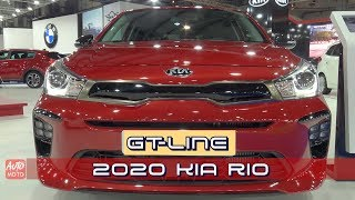 2020 Kia Rio GT-Line 1.0T GDI - Exterior And Interior - 2019 Automobile Barcelona