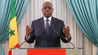 Situation tendue dans le pays Macky SALL appelle au calme et lance un message à la jeunesse N8