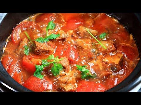 番茄牛腩煲!超詳細的做法,飯店大廚都這麼做,天冷吃太爽了【露肴】 - YouTube