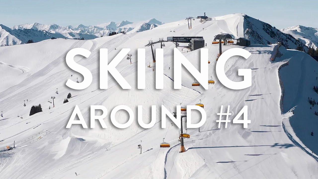 Skiing Around #4 - Skicircus Saalbach Hinterglemm Leogang Fieberbrunn