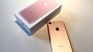 IPhone 7 ☺❤ розпакування/ перше враження/ огляд/ порівняння з iPhone 6 - захват