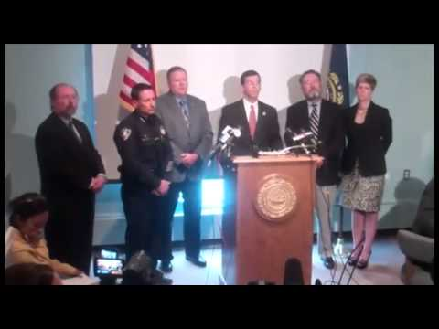 NH Attorney General Michael Delaney press conference on Greenland shooting