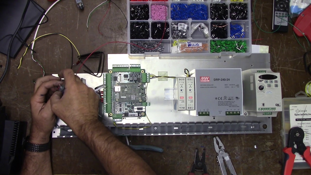 emco compact 5 cnc wiring the backpanel and vfd gotcha  [ 1280 x 720 Pixel ]
