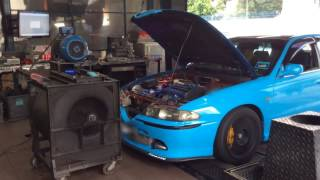 Perdana Evo GT3037 Turbo Dyno Run